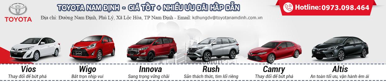 Đại lý toyota Nam Định