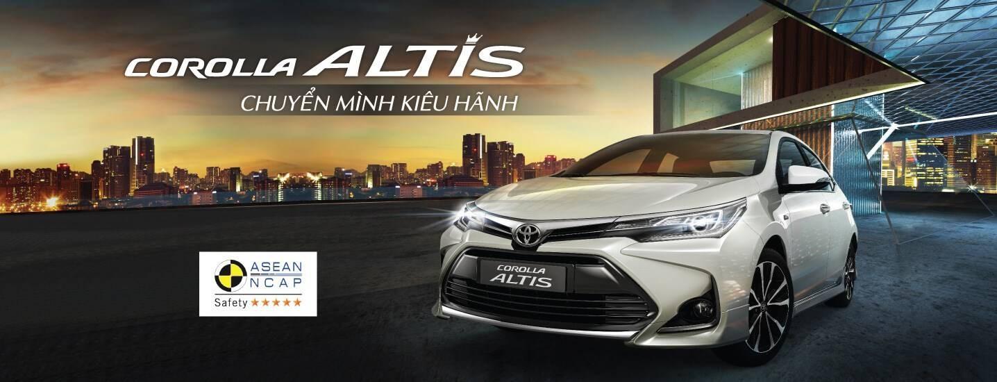 Toyota Nam Định - TOYOTA COROLLA ALTIS